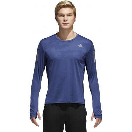 Tricou alergare bărbați - adidas RS LS TEE M RE - 9