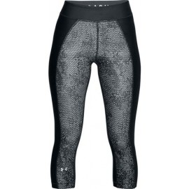 Under Armour HG PRINT ARMOUR CAPRI - Colanți compresivi 3/4 de damă