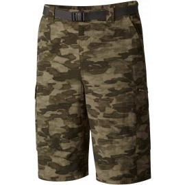 Columbia SILVER RIDGE PRINTED CARGO SHORT - Șort outdoor bărbați