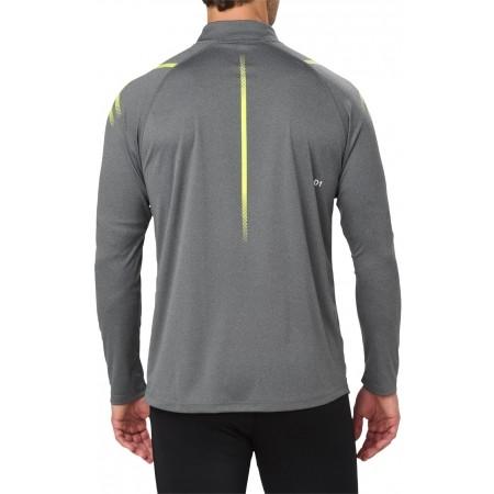 Tricou sport bărbați - Asics ICON LS 1/2 ZIP M - 4