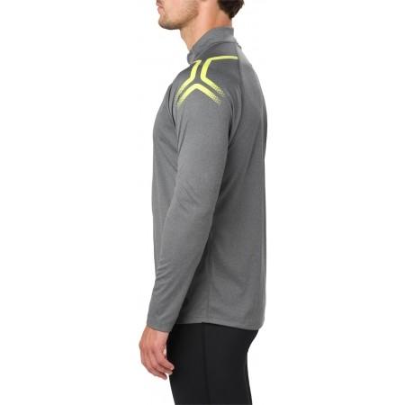 Tricou sport bărbați - Asics ICON LS 1/2 ZIP M - 5