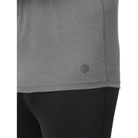 Tricou sport bărbați - Asics ICON LS 1/2 ZIP M - 7