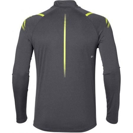 Tricou sport bărbați - Asics ICON LS 1/2 ZIP M - 2
