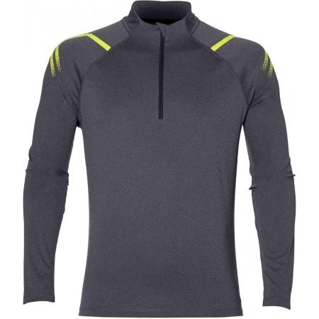 Tricou sport bărbați - Asics ICON LS 1/2 ZIP M - 1