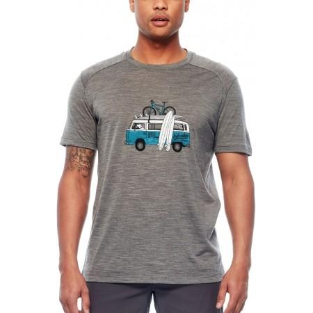 Tricou de bărbați - Icebreaker SPHERE SS CREWE VAN SURF LIFE - 2