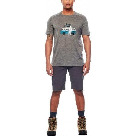Tricou de bărbați - Icebreaker SPHERE SS CREWE VAN SURF LIFE - 4