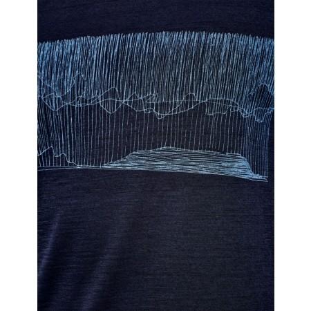 Tricou de bărbați - Icebreaker TECH LITE SS CREWE HARD RAIN - 8