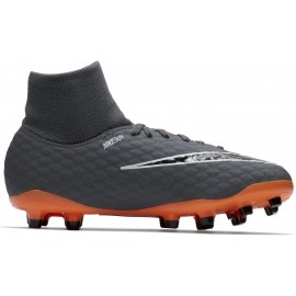 Nike JR HYPERVENOM PHANTOM III ACADEMY DYNAMIC FIT FG - Ghete de fotbal copii