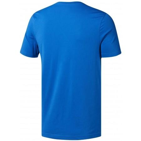 Tricou sport bărbați - Reebok QQR-REEBOK STACKED - 2