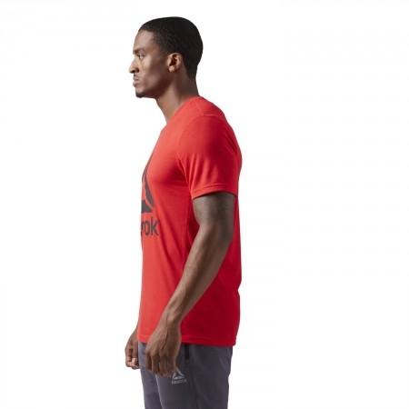 Tricou sport bărbați - Reebok WORKOUT READY SUPREMIUM 2.0 TEE BIG LOGO - 5