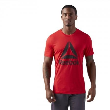 Tricou sport bărbați - Reebok WORKOUT READY SUPREMIUM 2.0 TEE BIG LOGO - 3
