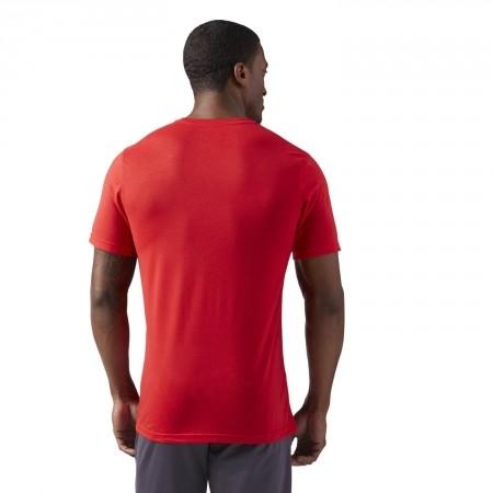 Tricou sport bărbați - Reebok WORKOUT READY SUPREMIUM 2.0 TEE BIG LOGO - 4