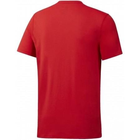Tricou sport bărbați - Reebok WORKOUT READY SUPREMIUM 2.0 TEE BIG LOGO - 2