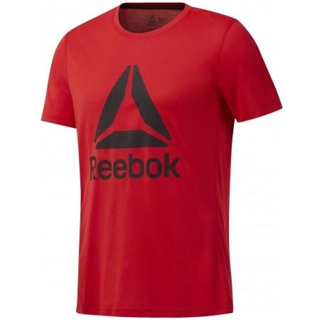 Tricou sport bărbați - Reebok WORKOUT READY SUPREMIUM 2.0 TEE BIG LOGO - 1