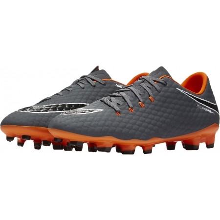 Ghete fotbal bărbați - Nike HYPERVENOM PHANTOM III ACADEMY FG - 3