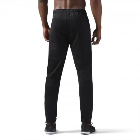 Pantaloni sport bărbați - Reebok WORKOUT READY STACKED LOGO TRACKSTER PANT - 4