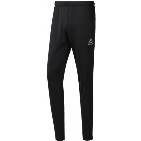 Pantaloni sport bărbați - Reebok WORKOUT READY STACKED LOGO TRACKSTER PANT - 1