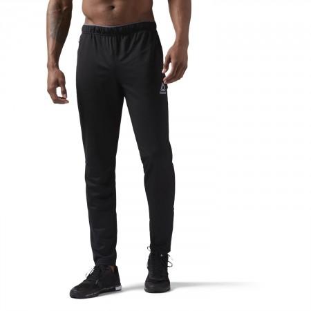 Pantaloni sport bărbați - Reebok WORKOUT READY STACKED LOGO TRACKSTER PANT - 3