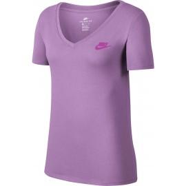 Nike TEE VNECK LBR W - Tricou de damă