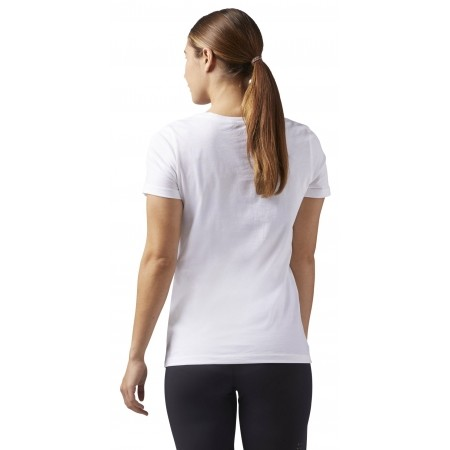 Tricou sport damă - Reebok LINEAR READ SCOOP NECK - 2