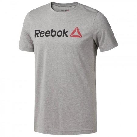 Tricou sport bărbați - Reebok QQR-REEBOK LINEAR READ - 1