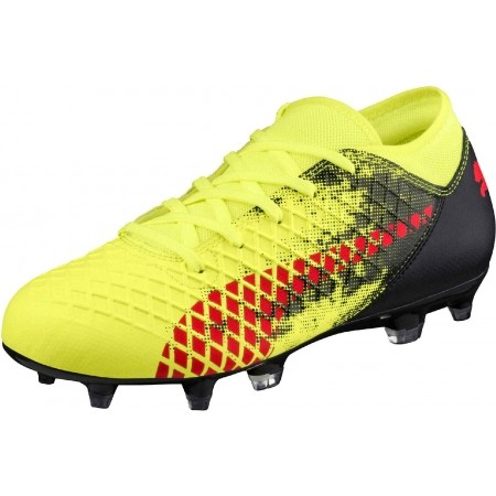 Ghete fotbal juniori - Puma FUTURE 18.4 FG/AG JR - 2