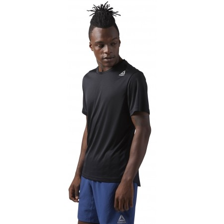 Tricou sport bărbați - Reebok RUN SS TEE M - 2