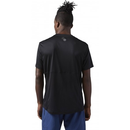 Tricou sport bărbați - Reebok RUN SS TEE M - 3