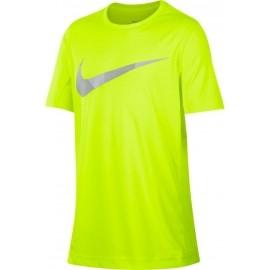 Nike DRY TOP SS LEG GFX B - Tricou de antrenament băieți