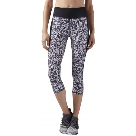Pantaloni de damă - Reebok RE CAPRI W - 1
