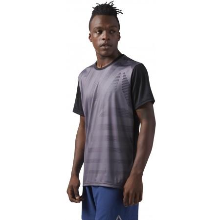 Tricou sport bărbați - Reebok SS TEE FLASH M - 3