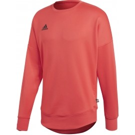 adidas TAN TERRY JSY L - Hanorac fotbal de bărbați