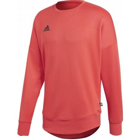 Hanorac fotbal de bărbați - adidas TAN TERRY JSY L - 1