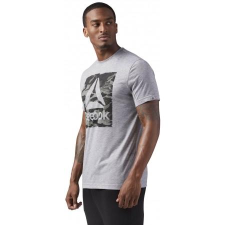 Tricou sport bărbați - Reebok M HALO TEE - 2