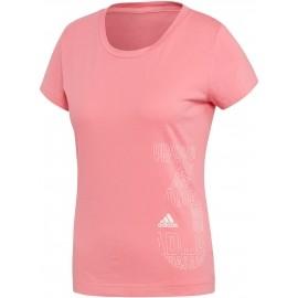 adidas W GFX TEE - Tricou sport de damă