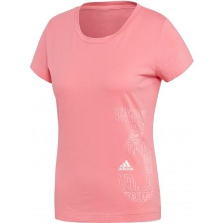 Tricou sport de damă - adidas W GFX TEE - 1