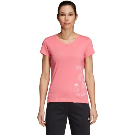 Tricou sport de damă - adidas W GFX TEE - 2