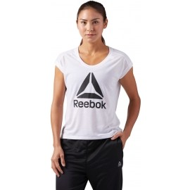 Reebok WOR SUPREMIUM 2.0 TEE BIG - Tricou sport damă