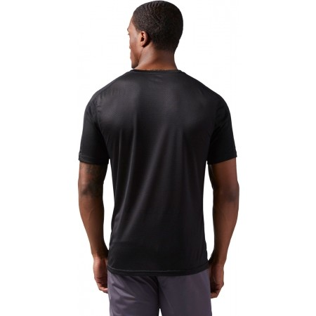 Tricou sport bărbați - Reebok COMMERCIAL CHANNEL SHORT SLEEVE - 3