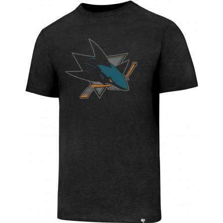 Tricou bărbați - 47 NHL SAN JOSE SHARKS CLUB TEE - 1