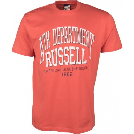 Tricou de bărbați - Russell Athletic S/S NECK CREW ATH DEPARTMENT - 1