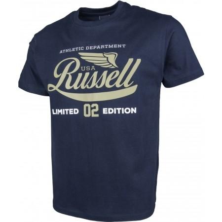 Tricou de bărbați - Russell Athletic S/S NECK CREW RA PRINT - 2