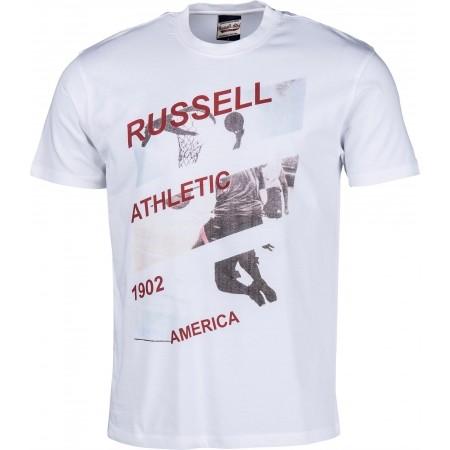 Tricou de bărbați - Russell Athletic AMERICA PHOTO PRINT - 1
