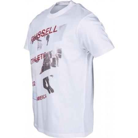 Tricou de bărbați - Russell Athletic AMERICA PHOTO PRINT - 2