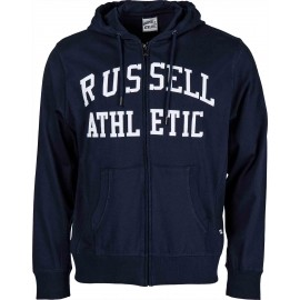 Russell Athletic PRINT HOODY FULL ZIP - Hanorac de bărbați