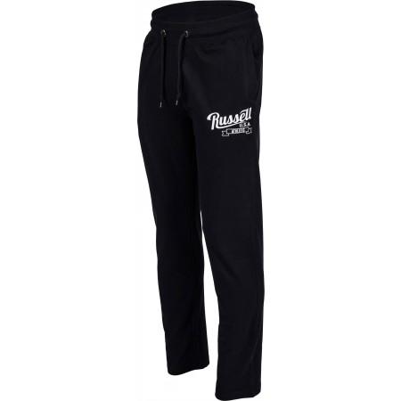 Pantaloni trening bărbați - Russell Athletic JERSEY OPEN PANT - 2