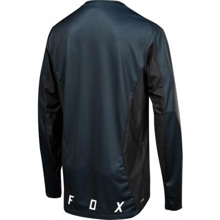 Tricou de ciclism bărbați - Fox LS CAMO BURN - 2