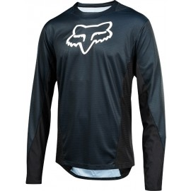 Fox LS CAMO BURN - Tricou de ciclism bărbați