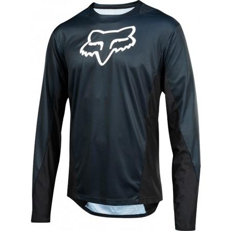 Tricou de ciclism bărbați - Fox LS CAMO BURN - 1