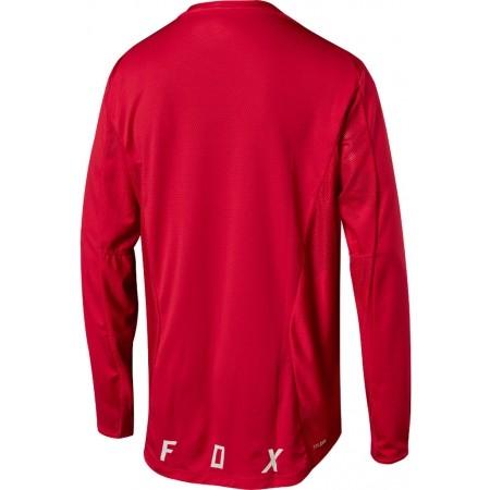 Tricou de ciclism bărbați - Fox Sports & Clothing LS CAMO BURN - 2